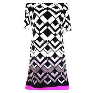 Chic geometric dress by Eliza J